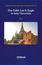 How Public Law Is Taught in Asian Universities